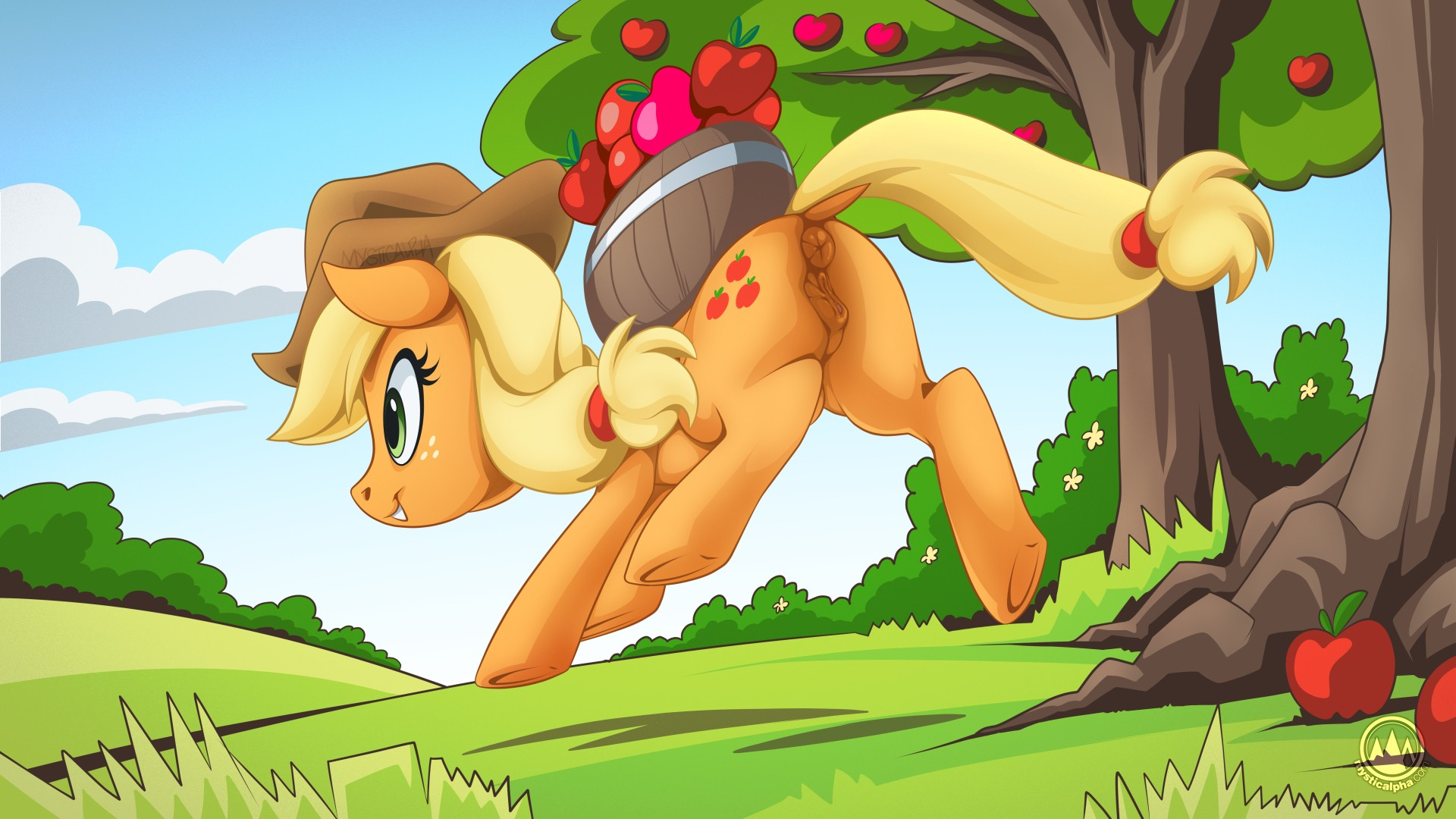 Applejack Apple Run