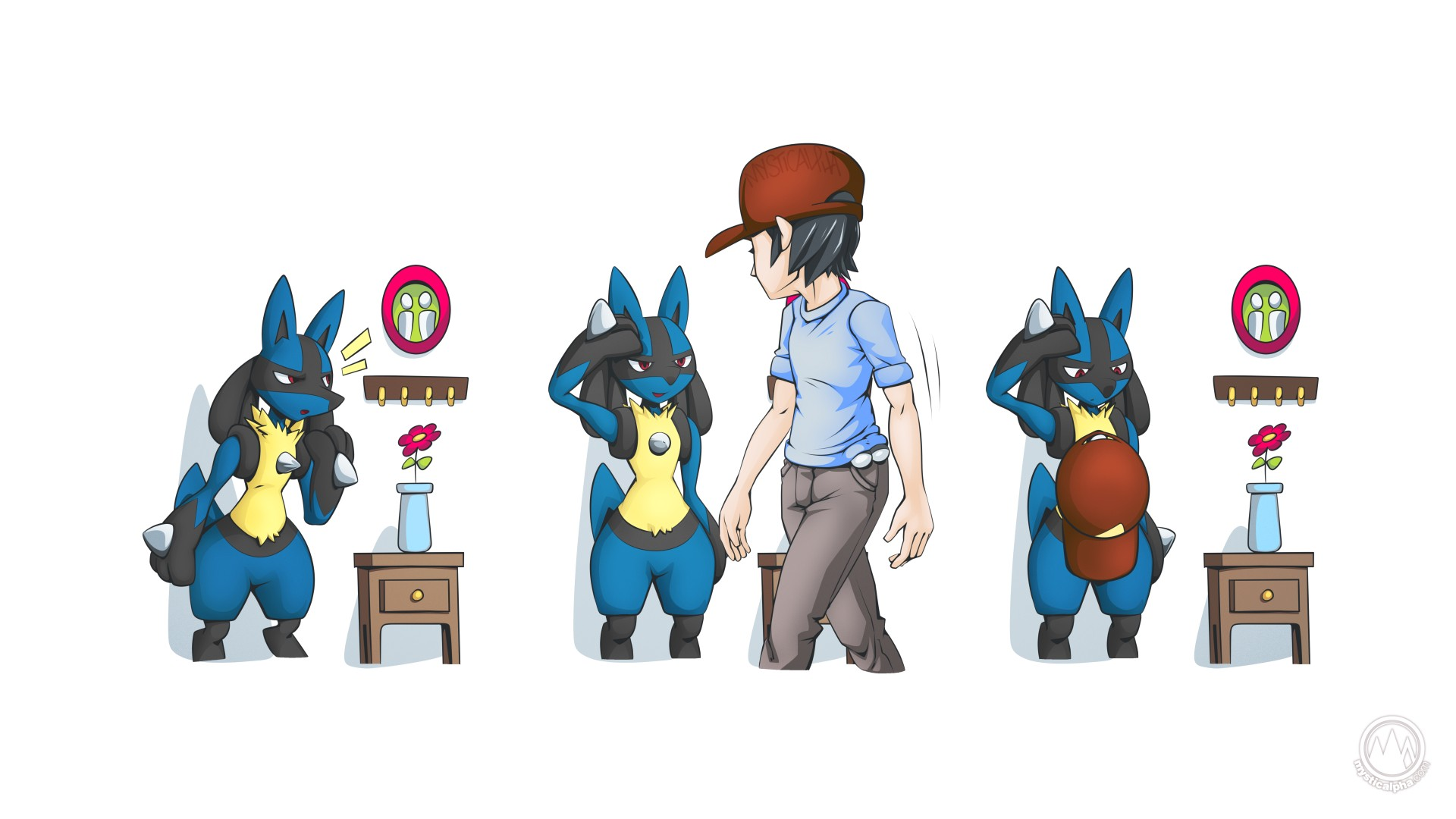 Lucario Hat Spike